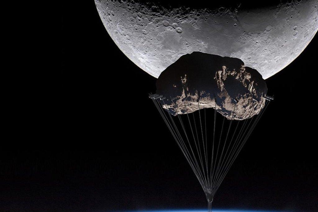 Asteroid k zemi dopraví robotické lodě