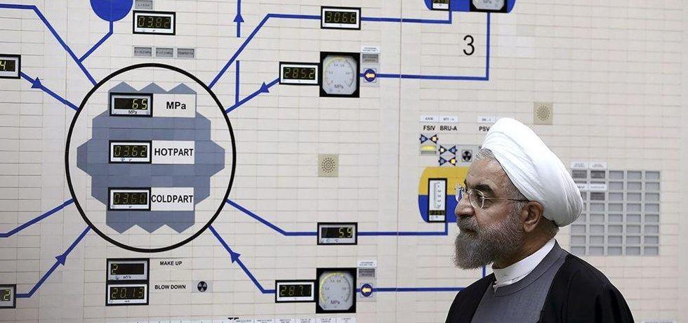 Íránský prezident Hasan Rúhání, ilustrační foto