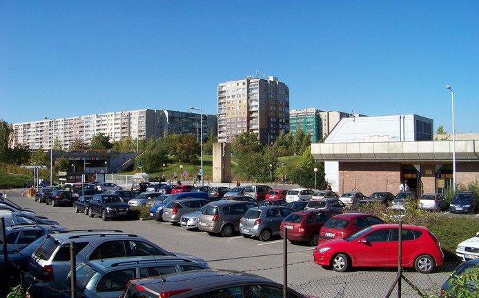 ilustrační foto, parkoviště P+R Nové Butovice