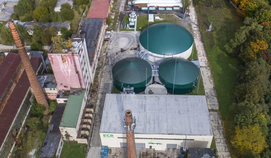 Bioplynová stanice - ilustrační foto