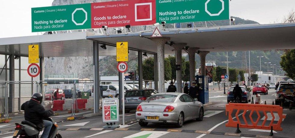 Hranice mezi Gibraltarem a Španělskem