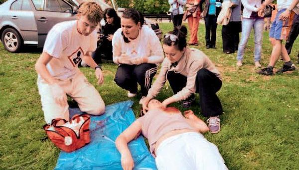 Celostátní soutěž první pomoci s mezinárodní účastí