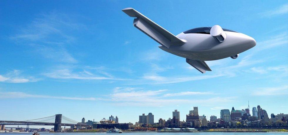 Elektrické letadlo Lilium