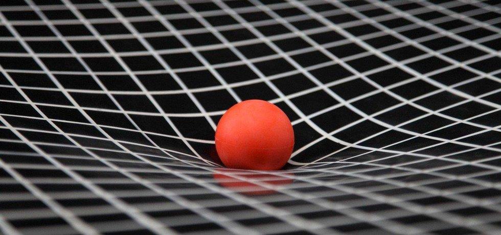 Simulace gravitace, ilustrační foto