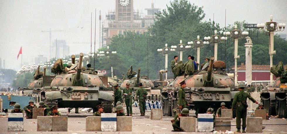 Zásah čínských bezpečnostních sil v roce 1989