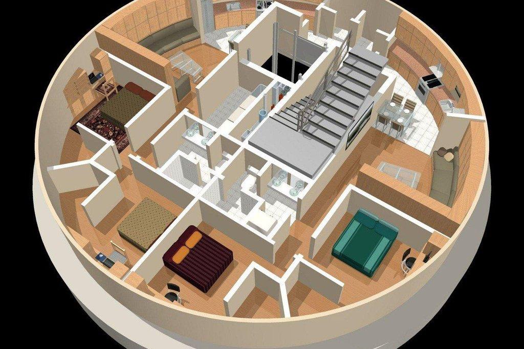 Survival Condo (Kansas) Velikost jednoho patra přesahuje 600 metrů čtverečních a jeho cena se pohybuje od 1,5 do 3 milionů dolarů. Zájemci však mají smůlu: všechny byty už jsou zamluvené. Autor projektu Larry Hall však už chystá další komplex.