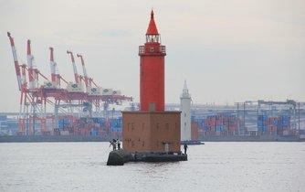 Největší japonský přístav Jokohama, ilustrační foto