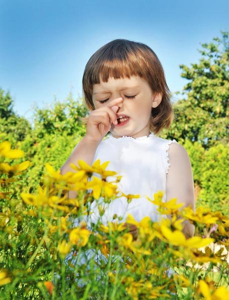 dítě, alergie