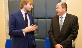 Ministr zdravotnictví Adam Vojtěch, ministr zemědělství Jiří Milek, ilustrační foto