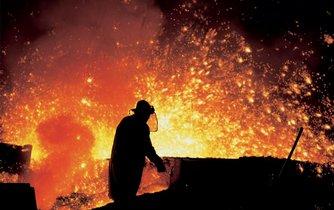 Vysoké pece v Třineckých železárnách