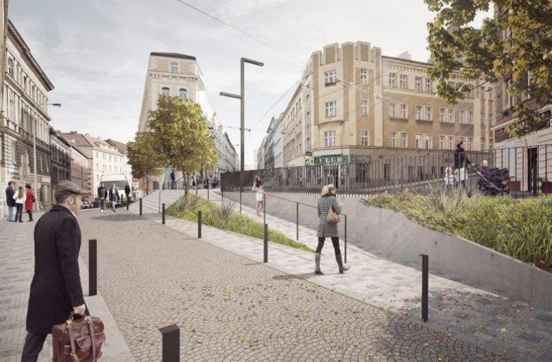 Jednu z nejdůležitějších žižkovských tepen, ulici Seifertova, čeká proměna