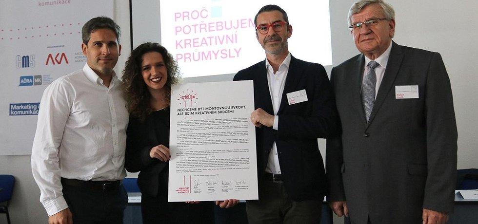 Představení Manifestu kreativních průmyslů