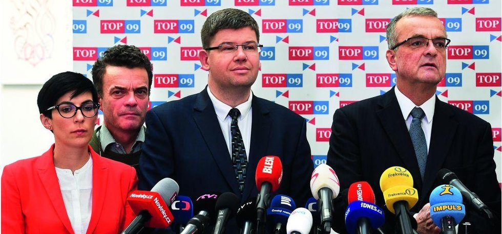 Do čela TOP 09 kandidují Tomáš Czernin a Markéta Pekarová Adamová