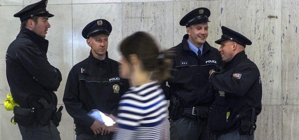 Strážníci pražské městské policie