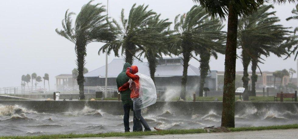 Hurikán Matthew na Floridě