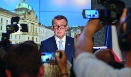 Andrej Babiš se vyjadřuje ke kauze údajného únosu svého syna na Krym