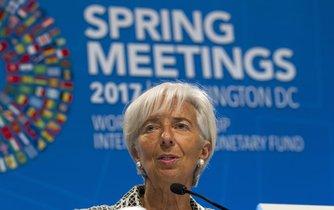 Christine Lagardeová, šéfka MMF
