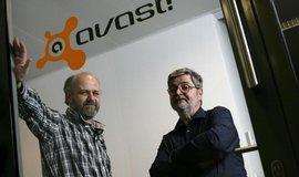 Pavel Baudiš (vlevo) a Eduard Kučera, zakladatelé firmy Avast