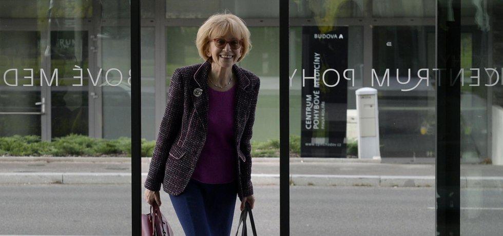 Za ANO kandiduje v Praze do senátu i bývalá ministryně spavedlnosti Helena Válková