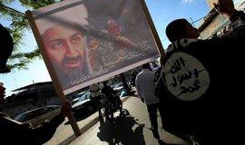 Protest proti zabití Usámy bin Ládina, ilustrační foto