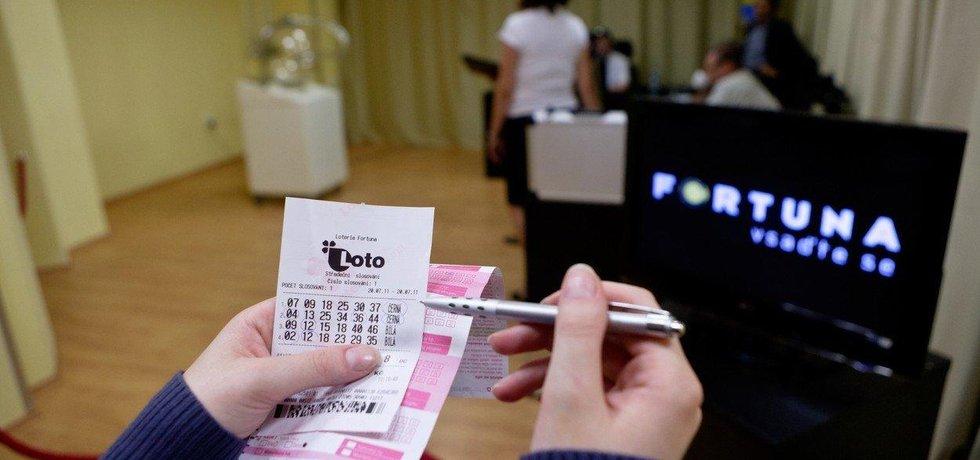 Fortuna loterie, ilustrační foto