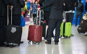 Check-in na letišti - ilustrační foto