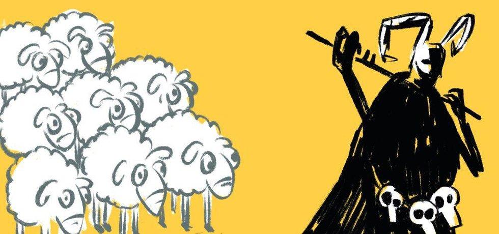 Ilustrace k eseji Kdo jsou Češi
