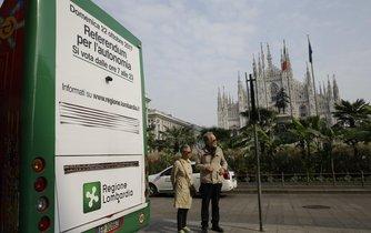 Na rozdíl od Katalánska se referenda uskutečňují v mezích italské ústavy.