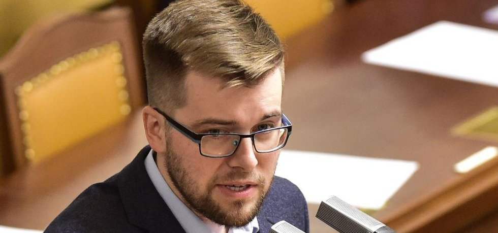 Šéf poslaneckého klubu Pirátů Jakub Michálek