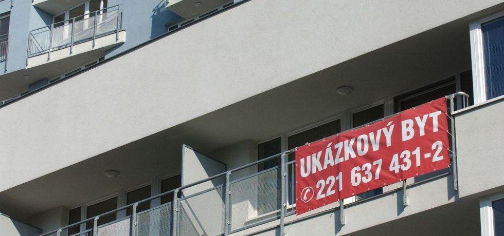 Pražské sídliště, ilustrační foto