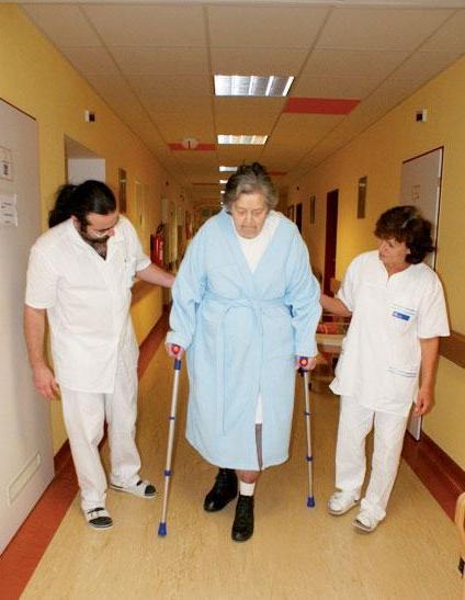 Rehabilitace v LDN Chrudimské nemocnice