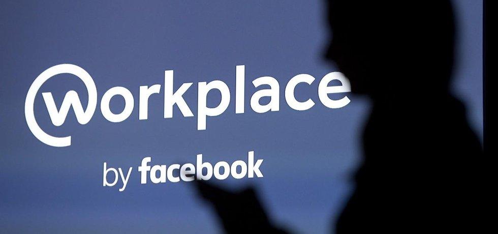 Logo podnikové sítě Workplace