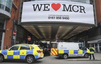 Policie evakuovala nákupní centrum Arndale v Manchesteru