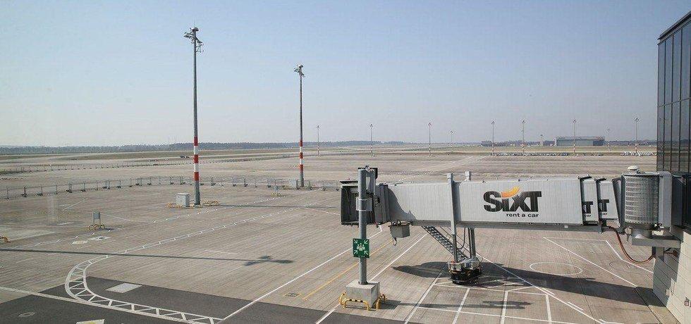 Letištní plocha nového letiště v Berlíne, ilustrační foto