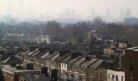 Znečištěné ovzduší v Londýně
