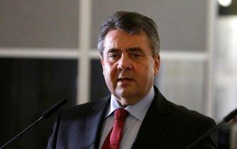 Německý ministr zahraničí Sigmar Gabriel