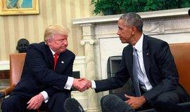 Donald Trump a Barack Obama se setkali v Bílém domě po Trumpově zvolení v listopadu 2016.