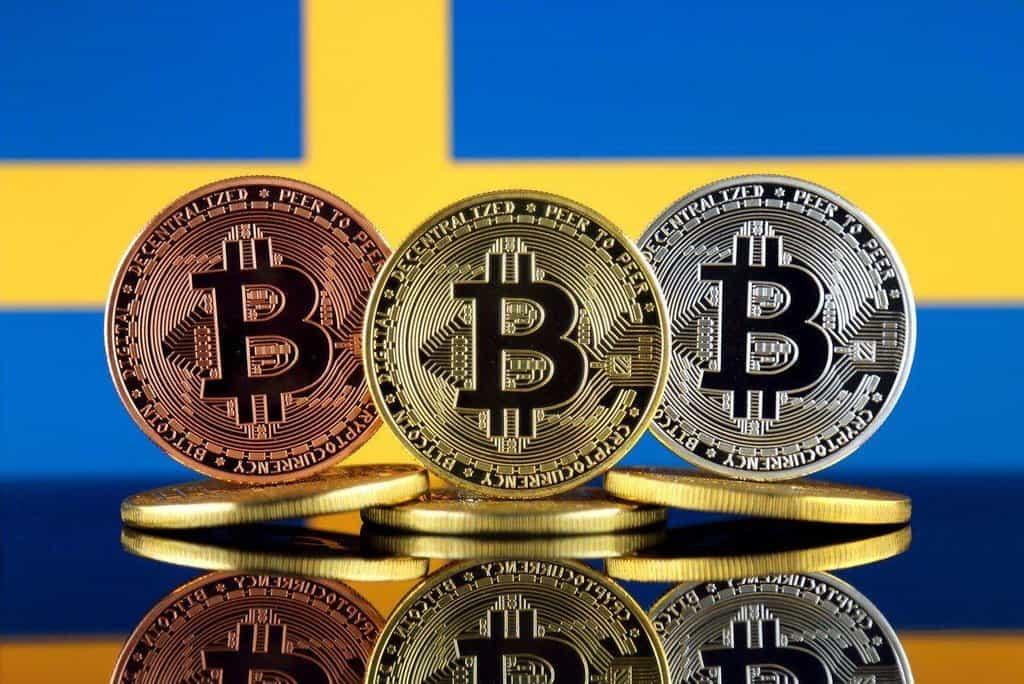 Švédsko a kryptoměny, ilustrační foto