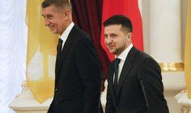 Česko anexi Krymu neuznává a odsuzuje, řekl Babiš na Ukrajině