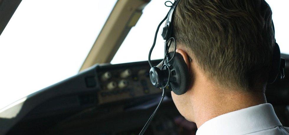 Pilot - ilustrační foto