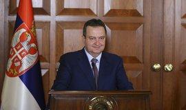 Srbský ministr zahraničí Ivica Dačić