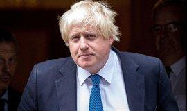 Britský ministr zahraničí Boris Johnson