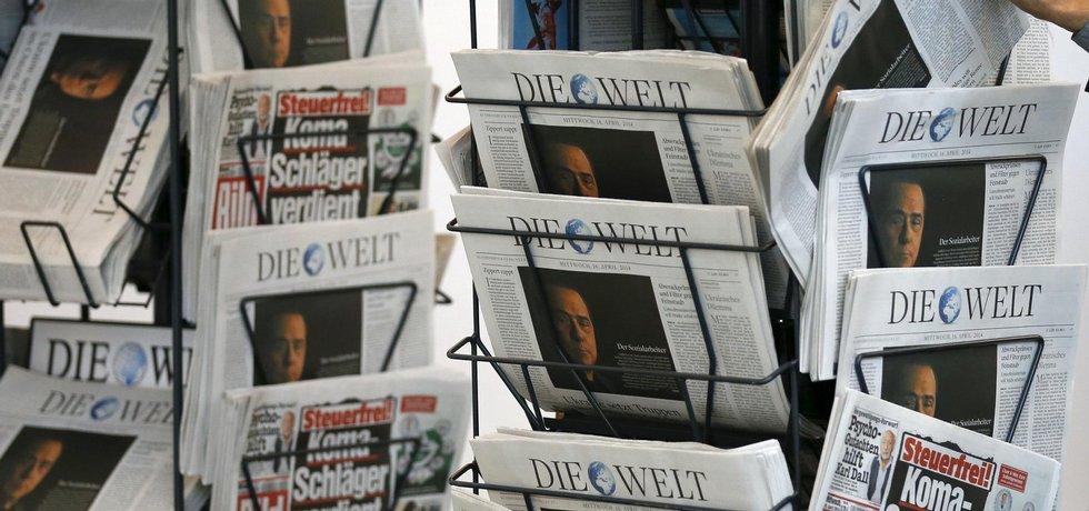 Deníky vydavatelství Axel Springer, ilustrační foto