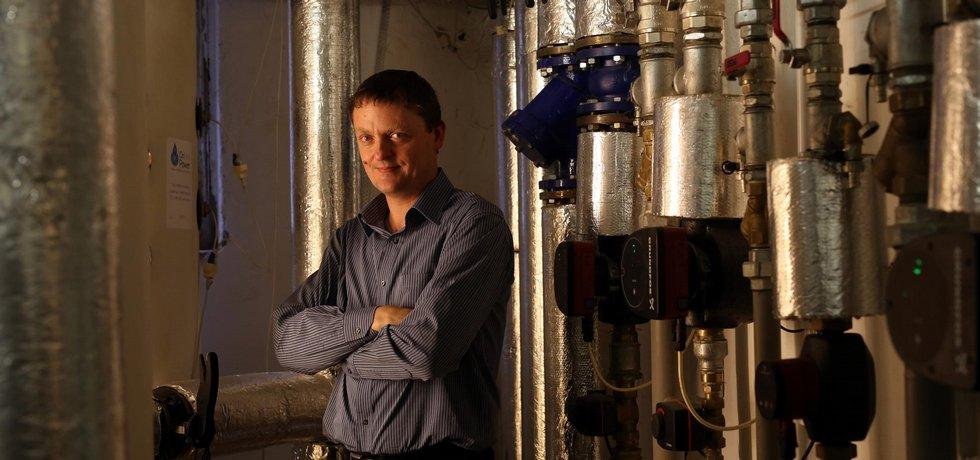 Miroslav Semrád, majitel společnosti OnSite Power.