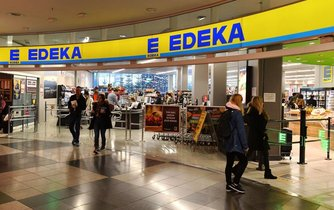 Supermarket Edeka, ilustrační foto