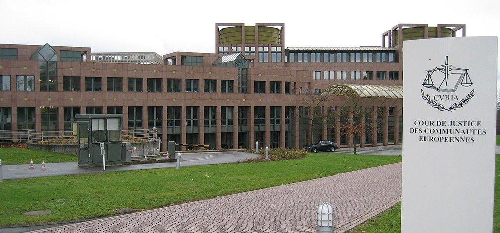 Budova Evropského soudního dvora v Lucemburku