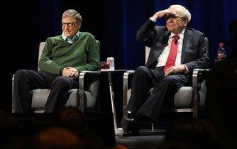 Bill Gates a Warren Buffett, ilustrační foto