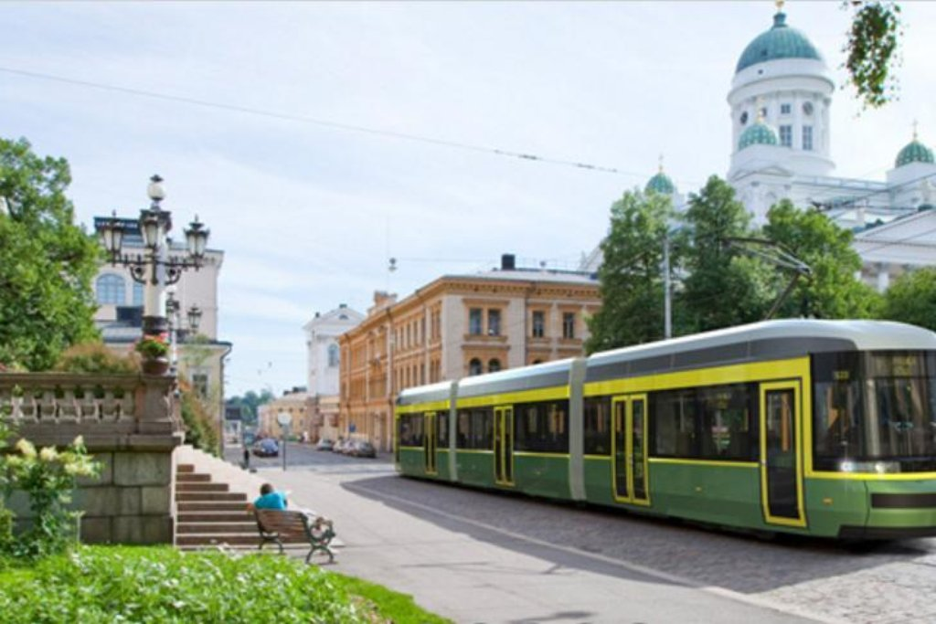 Tramvaj ForCity finského výrobce Transtech, dceřiné firmy Škody Transportation