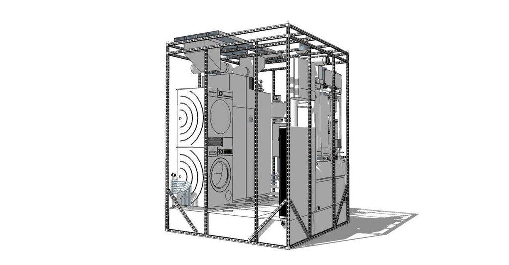 Vizualizace energetického jádra NyrdenCore.