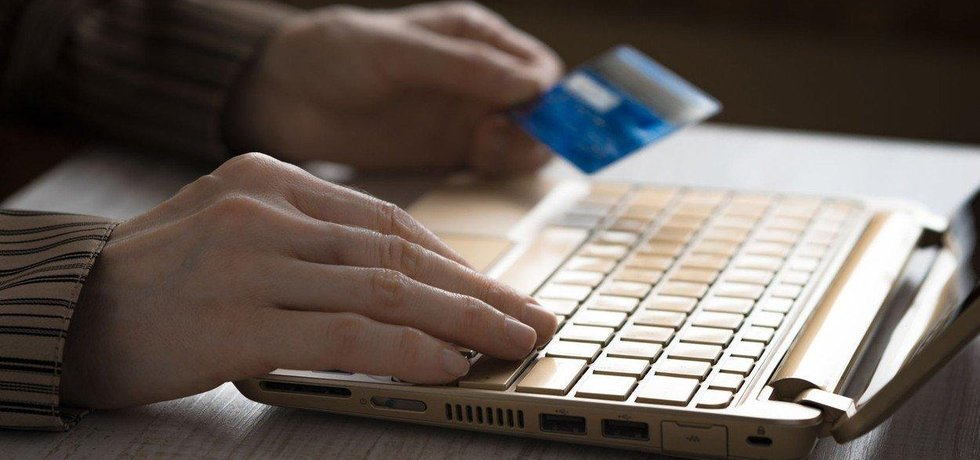 Platba v e-shopu, ilustrační foto